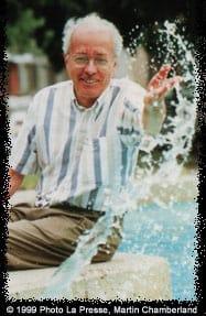 Marcel Barbeau. 1999,La Presse, Martin Chamberland.