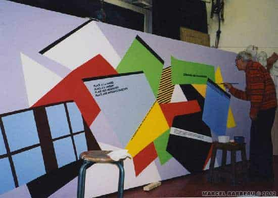 Marcel barbeau completing his painting invitation au voyage 1998 marcel barbeau completing his painting invitation au voyage 1998 hoto ninon cauthier ninon cauthier photo adagp paris pour marcel barbeau peinture stopboris Image collections
