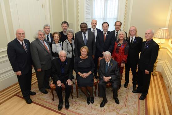 Photo officielle des lauréats des Prix du Québec 2013 (Crédit photo Rémy Boily)