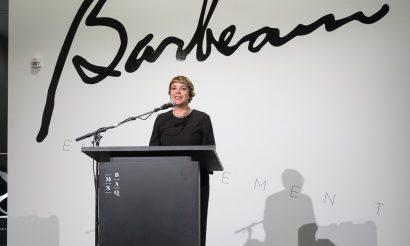 Press review of the exhibition Marcel Barbeau. En mouvement
