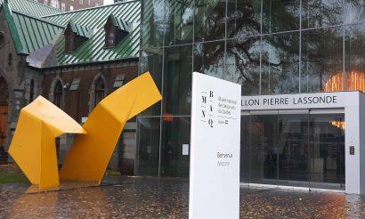 Un film sur l'exposition Marcel Barbeau. En mouvement au MNBAQ